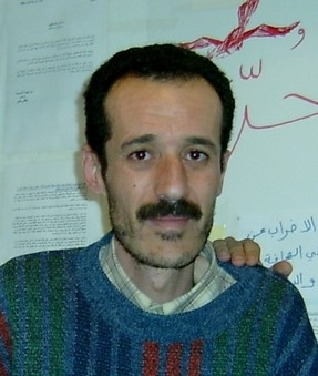 Boukhdhir during his hunger strike