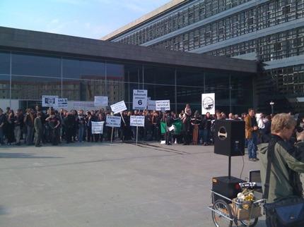 Manifestazione contro la proposta di legge