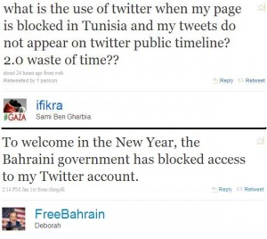 ifikra and freebahrain ruminate on their Twitter accounts being blocked