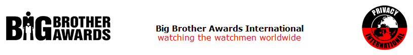 Screenshot from bigbrotherawards.org