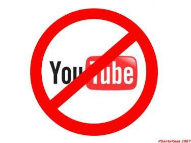 Censored on YouTube. Image by PSantaRosa on Flickr (CC-by-NC-SA 2.0).