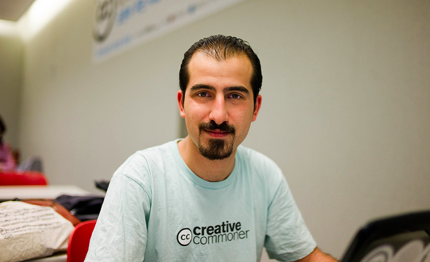 Bassel Khartabil. Photo by Joi. (CC BY 2.0)