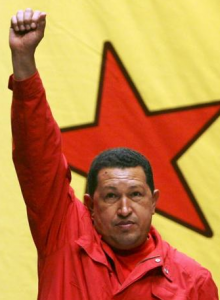 Hugo Chavez Frias. Photo from anticapitalistes.net. (CC BY-SA-NC 2.5 ES)