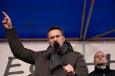 Russian blogger Alexey Navalny. Photo by Valya V (CC BY-NC-SA 2.0)