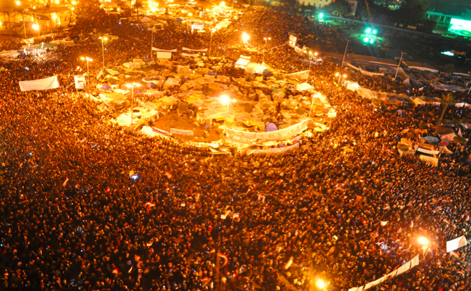 Tahrir Square in January 2011. Photo by Jonathan Rashad. (CC BY-2.0)