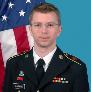 Bradley Manning. Photo by US Army. Released to public domain.