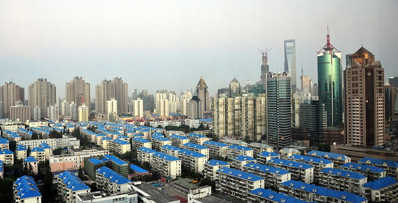 Shanghai. Photo by Jacob Jose via Wikimedia Commons (CC BY-SA 3.0)
