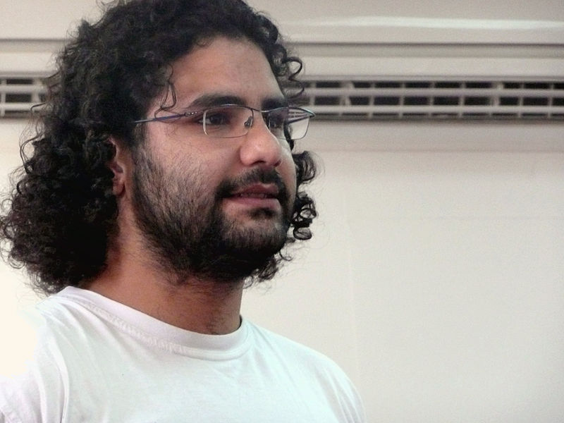 Alaa Abd El Fattah. Photo by Alaa (CC BY-SA 2.5)