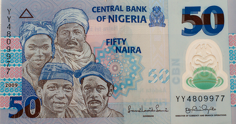 Nigerian Naira. Photo by Shardayyy via Flickr (CC BY 2.0)