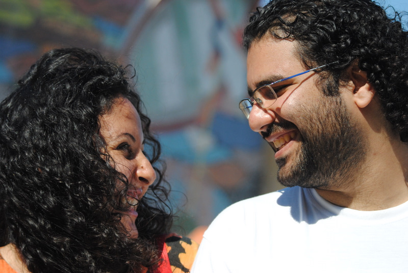 Alaa and Manal. Photo by Lilian Wagdy via Wikimedia Commons (CC BY 2.0)