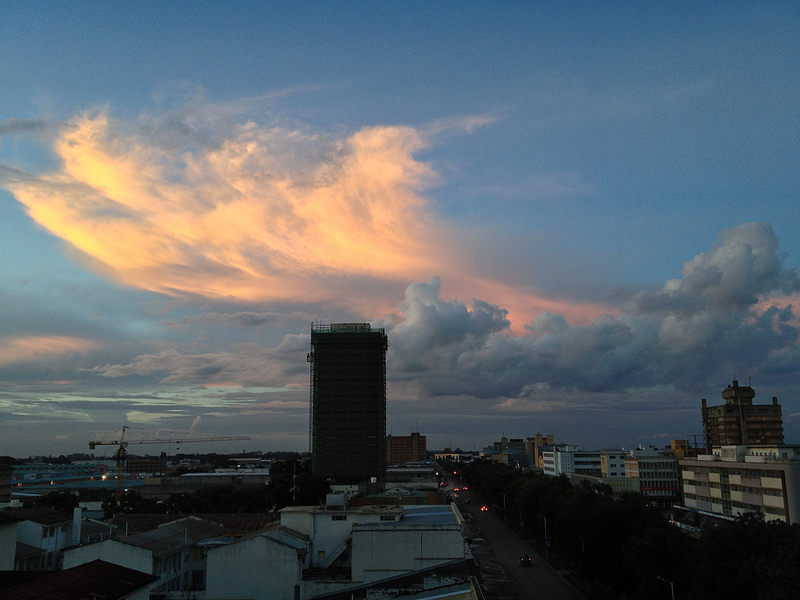 Lusaka skyline. Photo by Mike Lee via Flickr (CC BY-NC-ND 2.0)