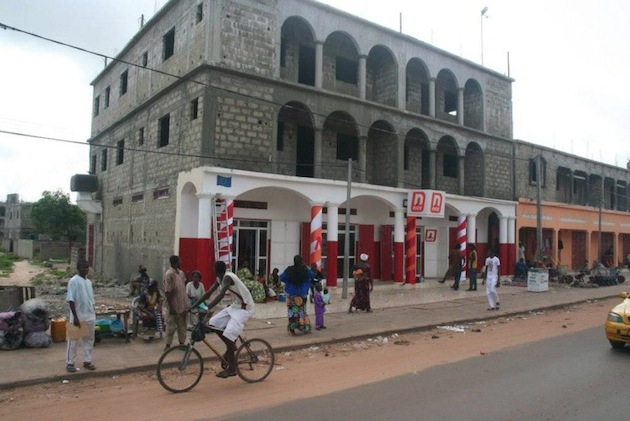 NICE ICT development center in Tabokoto, The Gambia. Photo by Green Africa Directory.