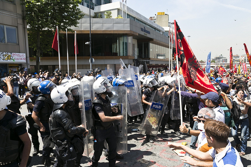 Protest in Istanbul, June 2013. Photo by Eser Karadag via Flickr (CC BY-SA 2.0)