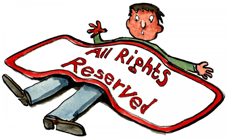 """All Rights Reserved."" Drawing by Frits Ahlefeldt, released to public domain."