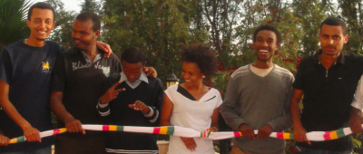 Six of the detained bloggers in Addis Ababa. Photo used with permission.
