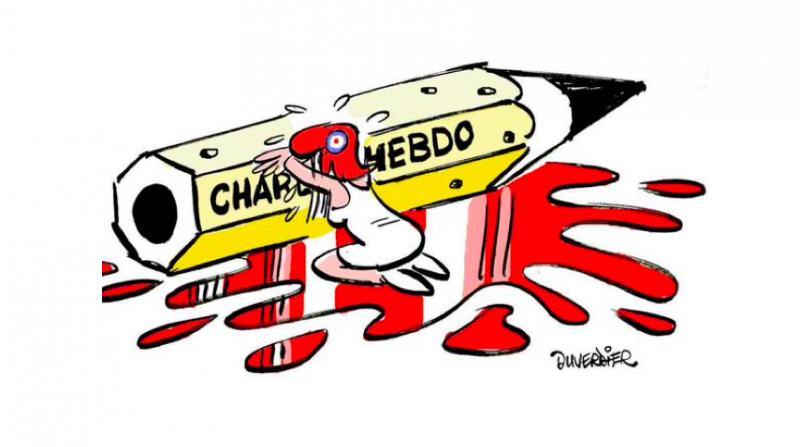 Cartoon by Duverdier. Posted on Twitter by Jean-Baptiste Daubier.