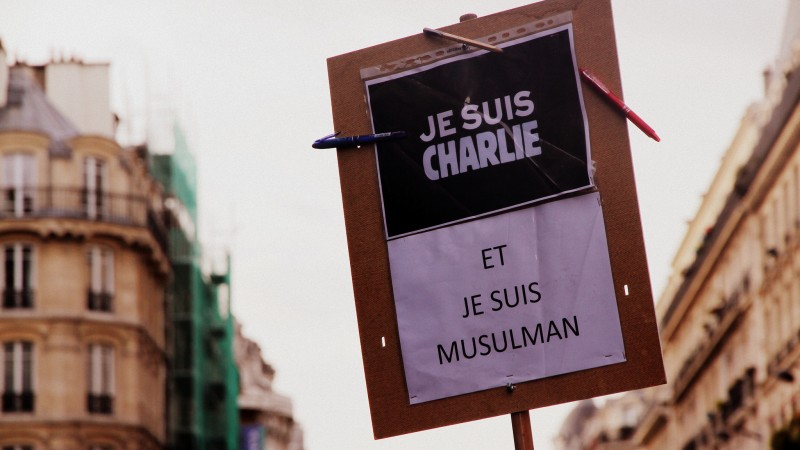 """I am Charlie ... and I am Muslim."""