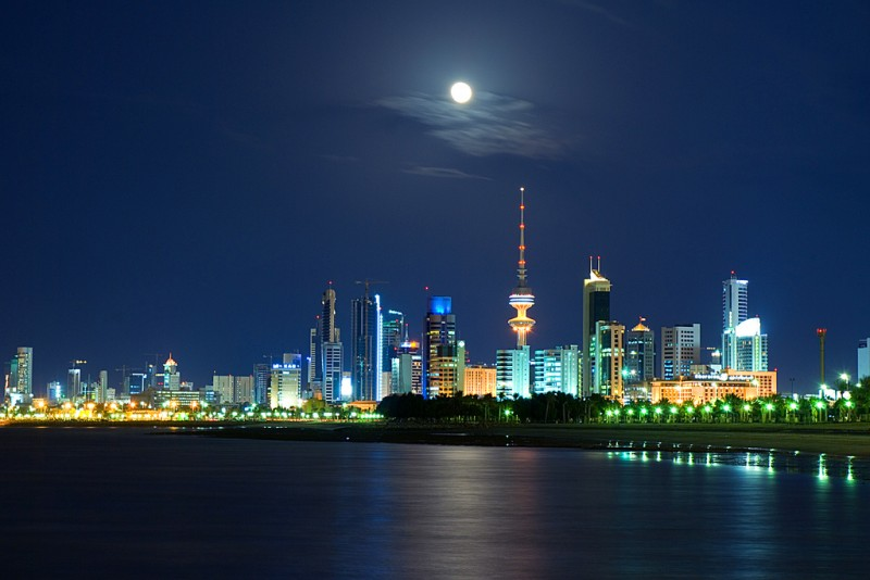 Photo of Kuwait City skyline by Cajetan Barretto, CC BY-NC-SA 2.0