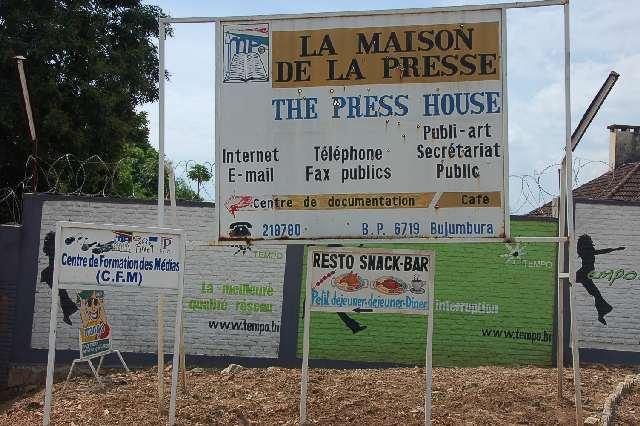 La maison de la presse: lieu de la formation