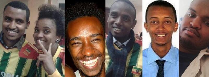 Atnaf Berahane, Mahlet Fantahun, Zelalem Kiberet, Befeqadu Hailu, Natnael Feleke, Abel Wabela.