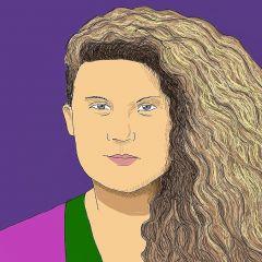 A small portrait of Isabella Barroso